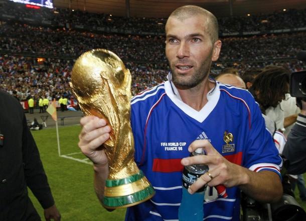 Zidane in cima al mondo il 12 luglio del 1998