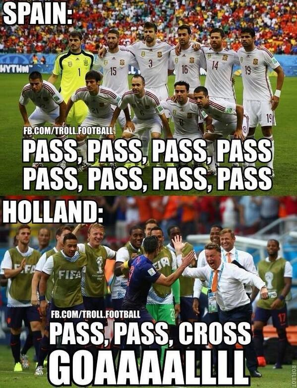 Sintesi essenziale del primo grande match di Brasile2014