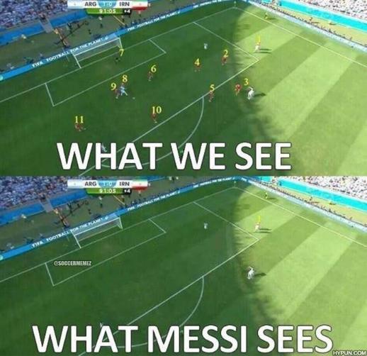 Quello che per gli altri è impossibile, per Messi è...