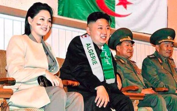 Tutti tifano Algeria!