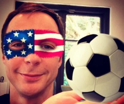 """Anche Sheldon dice """"U-S-A!"""""""