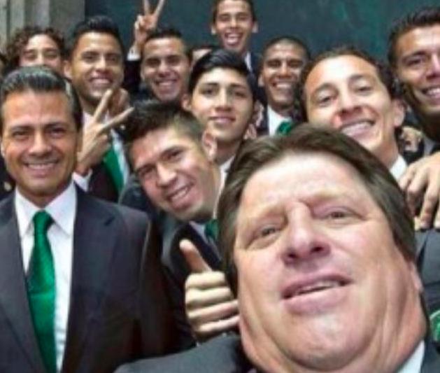 """Hector Herrera re dei """"selfie"""""""