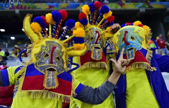 All'Ecuador non è mancato il calore sugli spalti