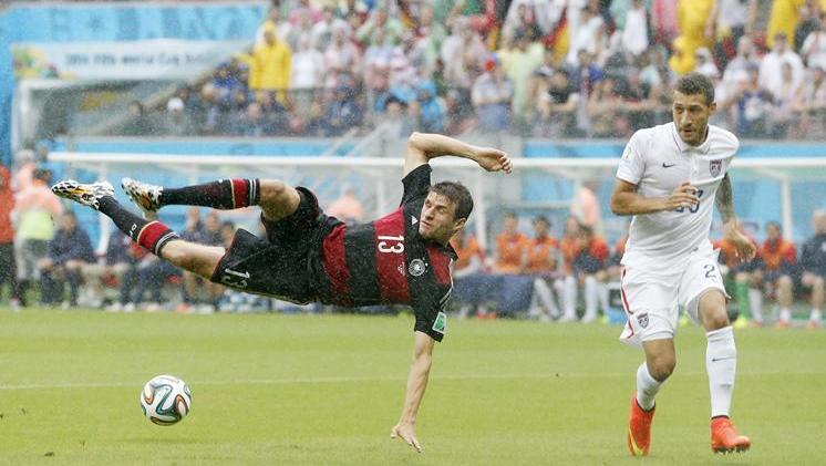 Thomas Müller, già recordman dei Mondiali