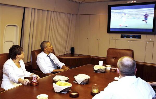Obama organizzatissimo per Brasile 2014