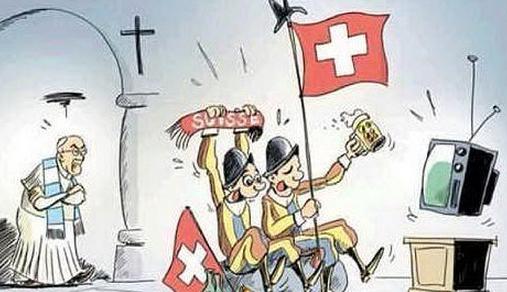 Papa vs. Guardie Svizzere agli ottavi di finale