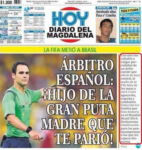 I media colombiani invitano alla moderazione
