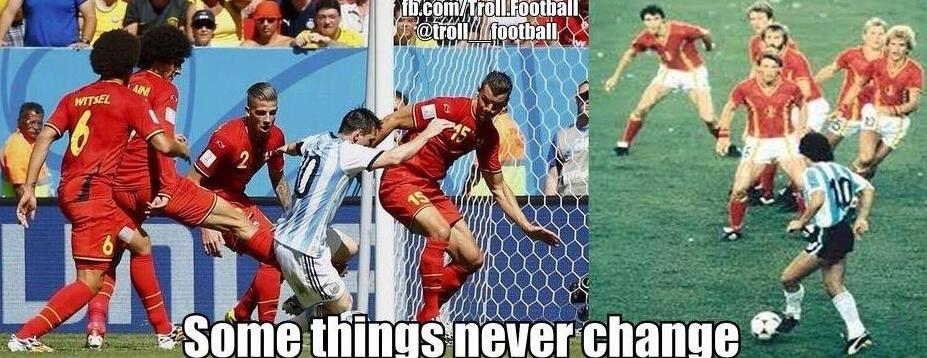 Ci sono cose che non cambiano mai...