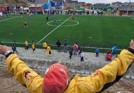Groenlandia, l'ultima frontiera del football